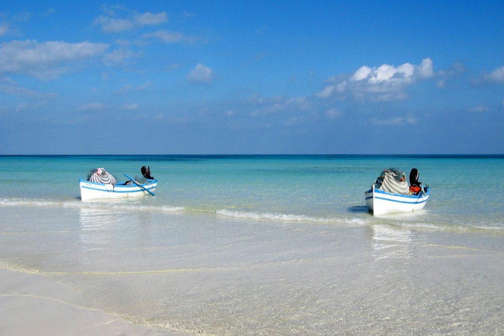 Mer Méditerranée, Tunisie