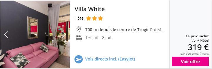 Séjour Vol + Hôtel Split Trogir