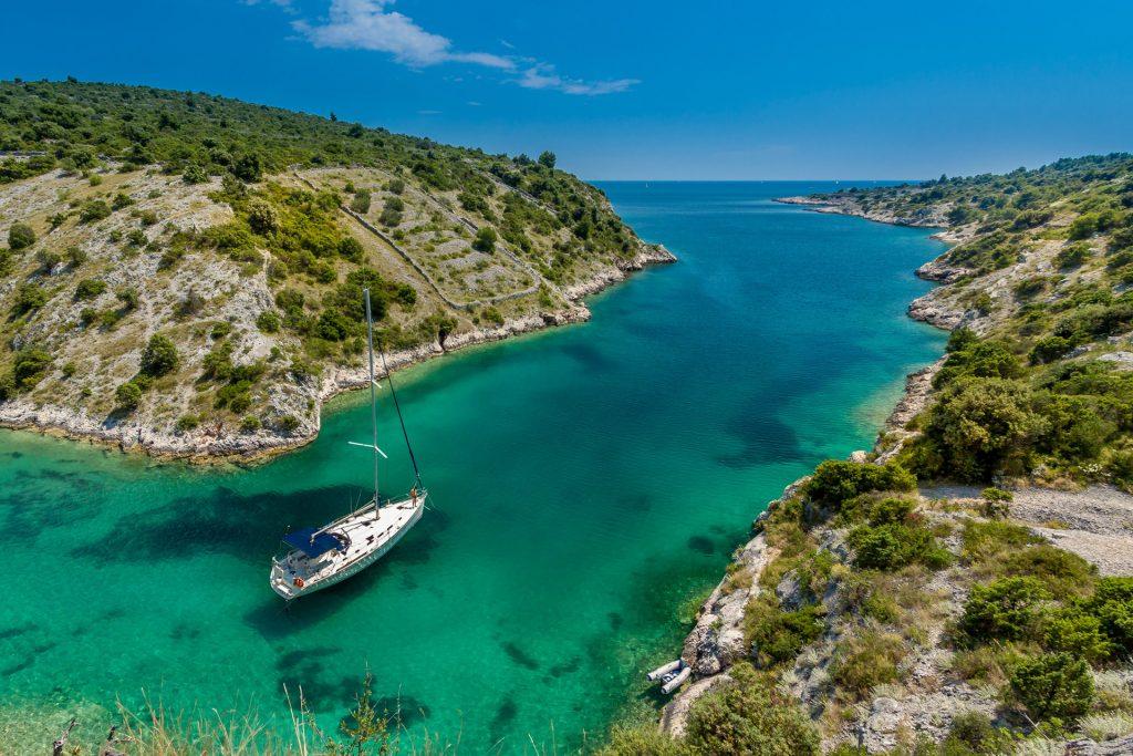 Bateau, Mer Adriatique, Croatie