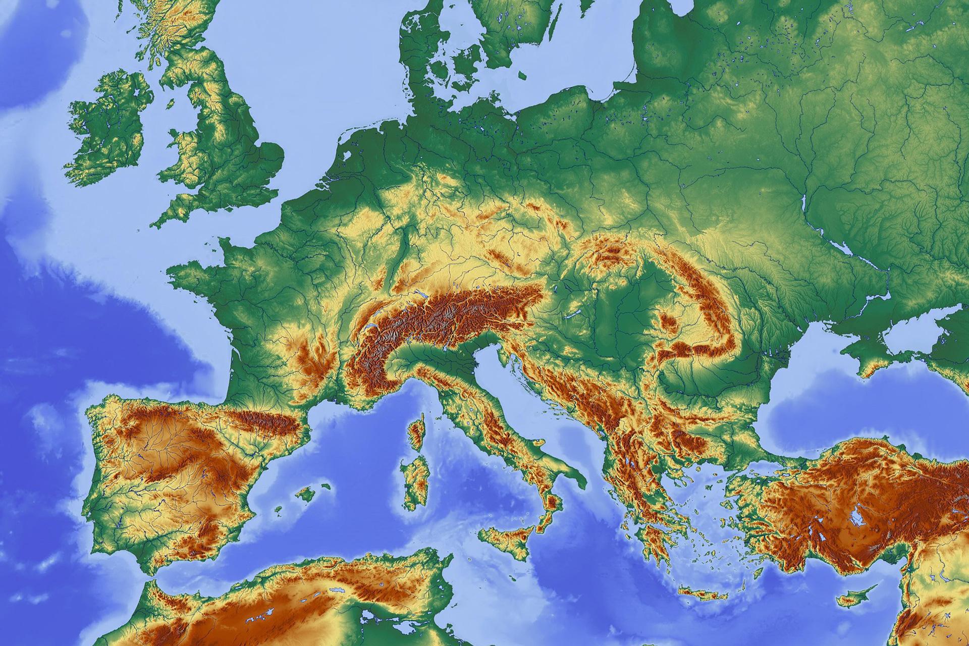 Europe géographique