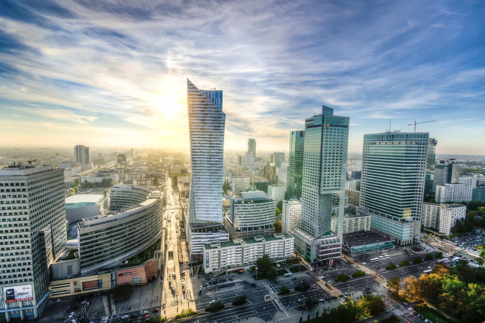 Vue de Varsovie, Pologne
