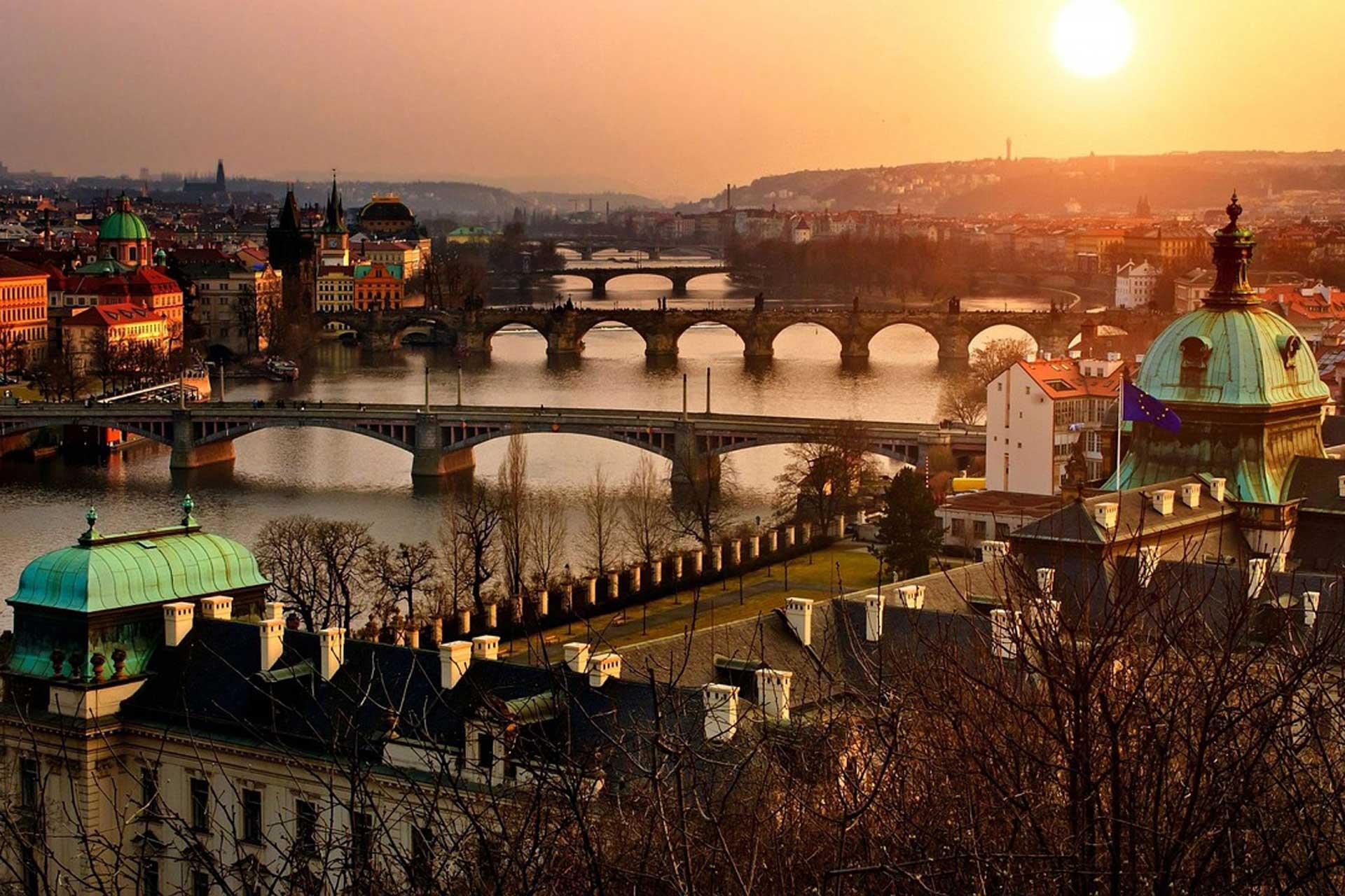 Vol Lyon Prague à partir de 9€ l'aller simple, 28€ l'aller retour
