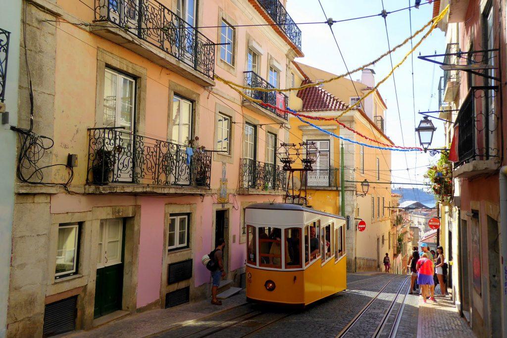 Vue de Lisbonne, Portugal