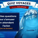 Quiz Voyages – Niveau Dauphin ⭐⭐⭐