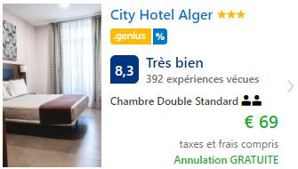 Bon plan hôtel pas cher à Alger