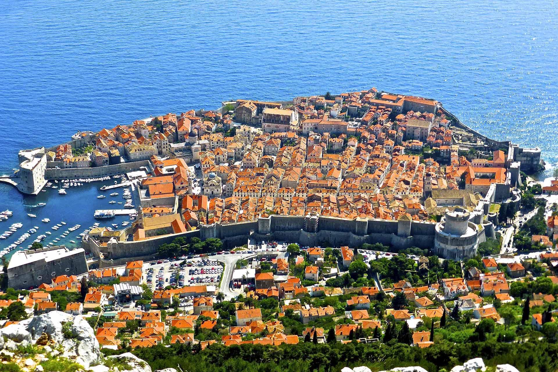 Vol Lyon Dubrovnik en Croatie à partir de 5€ l'aller simple, 20€ l'aller retour