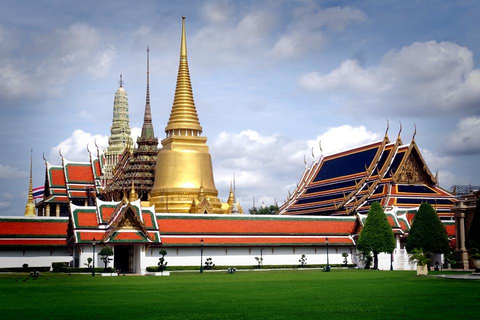 Temple à Bangkok, Thaïlande, Asie